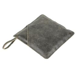 Image of   Grydelap i læder - sort
