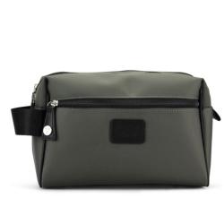 Billede af Herretoilet taske i grå/army grøn