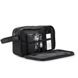 Læder herretoilettaske - med udstyr fra N/A fra fenomen