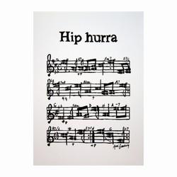 Billede af Kort - Hip-Hip-Hurra
