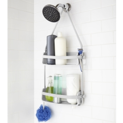 Flex shower caddy - hvid