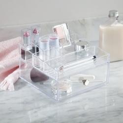 N/A Make-up holder i klar akryl fra fenomen
