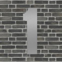 Sølv husnummer 40 cm - 1