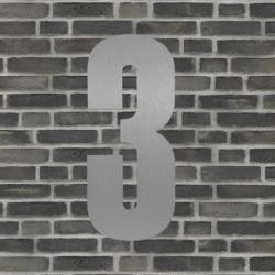 Sølv husnummer 40 cm - 3