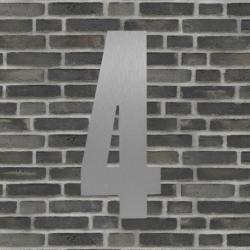 Image of   Sølv husnummer 40 cm - 4