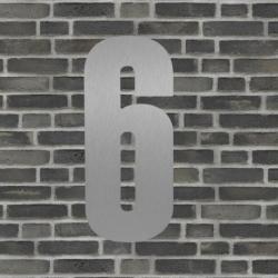 Sølv husnummer 40 cm - 6