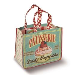 N/A Indkøbsnet - lady cupcake på fenomen