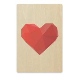 Billede af ArtBoard kort - hjerte
