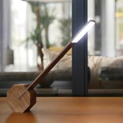 Billede af Lampe Octagon - brun