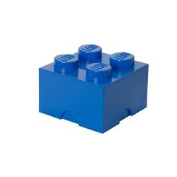 N/A – Lego klods til opbevaring - brick 4 blå på fenomen