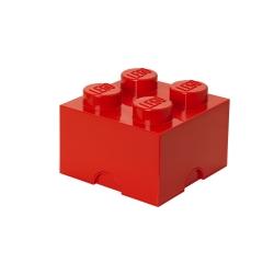 Lego klods til opbevaring - brick 4 rød fra N/A på fenomen