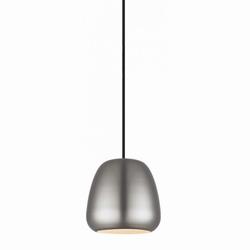 Billede af Pendel i børstet stål - Løkken lampe