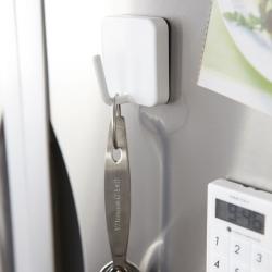 Magnetisk knage - hvid