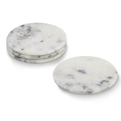 Marmor glasbrikker - hvide