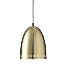 Mini Dynamo lampe - messing