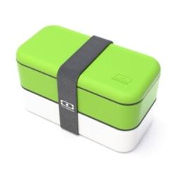 Monbento original grøn/hvid madkasse - the bento box fra N/A fra fenomen