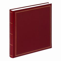 Image of   Album med blanke sider - bordeaux