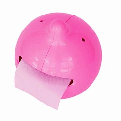 Mr. P The Wiper - toiletrulleholder pink