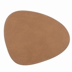 Billede af Musemåtte i brun læder
