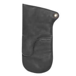 Billede af Grillhandske sort læder - Muubs