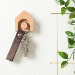 Nøgleholder i bøge træ - Town Hauss
