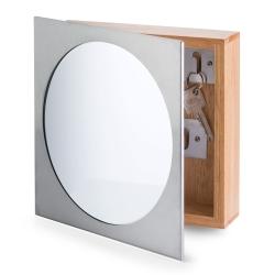 Nøgleskab med spejl