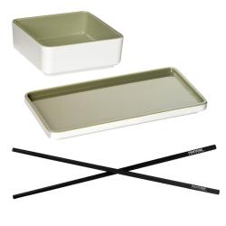 Image of   Sushi sæt - Pantone Tea - 2 sæt
