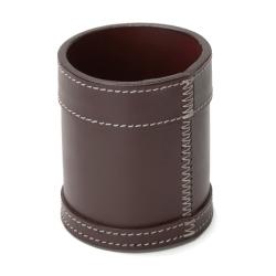Billede af Pencup - chocolate læder