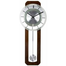 Billede af Retro pendul vægur - rundt ur