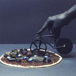 N/A Pizzaskærer fixie - sort cykel på fenomen