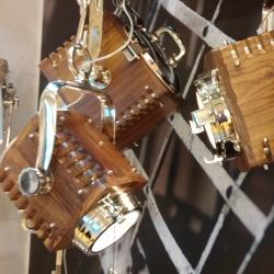 Loftlampe i træ - projektør fra N/A fra fenomen