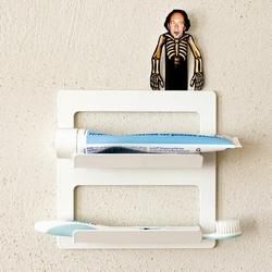 Pulpo TOOTH tandbørsteholder - hvid