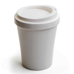 Papirkurv coffee bin i hvid - large fra N/A på fenomen