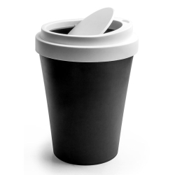 N/A Papirkurv coffee bin i sort - mini fra fenomen