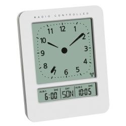 Radiokontrolleret vækkeur med temperatur