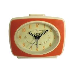 Orange retro vækkeur