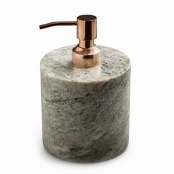 Sæbedispenser brun marmor og kobber fra N/A på fenomen