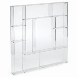 Billede af Sættekasse kvadratisk - klar akryl