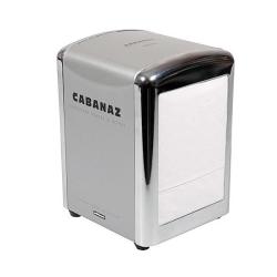 Servietholder Cabanaz - grå / stål farvet