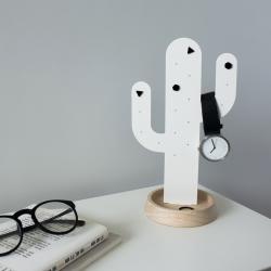 Billede af Smykkeholder kaktus - hvid