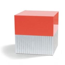 Smykkeskrin - stripes & orange fra N/A fra fenomen