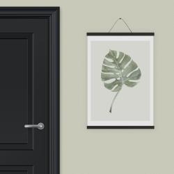 Billede af Plakat ophæng sort egetræ - large