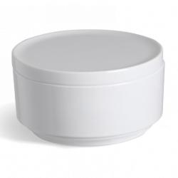 Step - hvid krukke