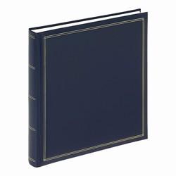 Billede af Stort album med blanke sider - blå