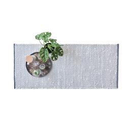 Rain tæppe White/Grey 65x135 cm
