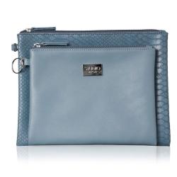 Image of   Kosmetikpunge clutch - blå