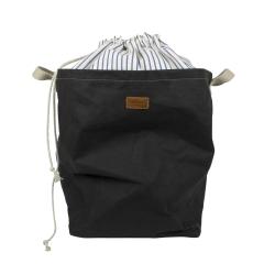 Billede af Vasketøjskurv Positano - sort