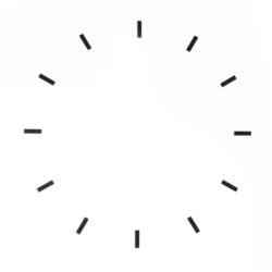 Billede af Løse streger til vægur
