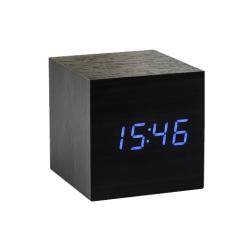 Billede af Vækkeur - Gingko Cube Click Clock sort