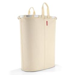 Image of   Oval vasketøjskurv - beige